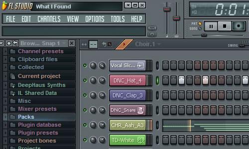 creare musica house