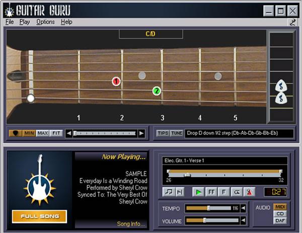 chitarra virtuale