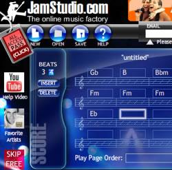 Programma per creare basi musicali